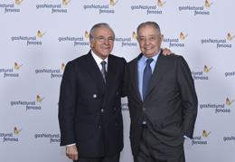 Isidre Fainé y Salvador Gabarró, de Gas Natural Fenosa