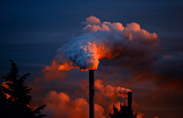 Contaminación de empresas, de Pixabay