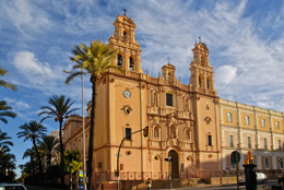 Fachada de la catedral de Huelva, de Open