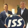 Javier Urbiola y Joaquim Borrás, de ISS