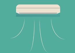 Aire acondicionado, de Pixabay