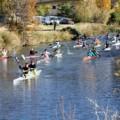 Piraguas en Canal de Castilla, de Open
