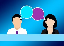 Chat con cliente, de Pixabay
