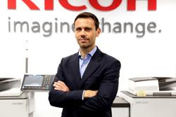 Xavier Moreno, de Ricoh