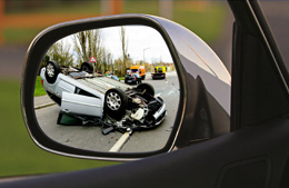 Accidente de coche, de Pixabay