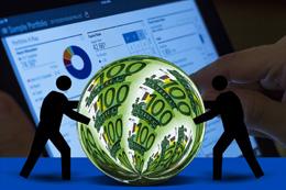 Envío de dinero, de Pixabay