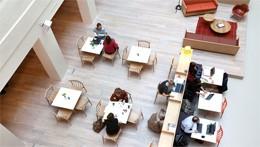 Oficinas modernas, de Spaces