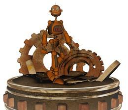 Industria automatizada, de Pixabay