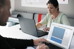 Empleados de oficina, de Pixabay