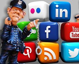 Delitos en redes sociales, de Pixabay
