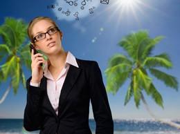 Vacaciones conectados a trabajo, de Pixabay