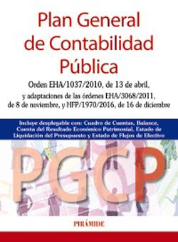 Portada de Plan General de Contabilidad Pública