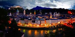 Salzburgo nocturno, de Open