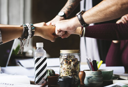 Colaboración del equipo, de Pixabay