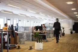 Productividad en trabajo de oficina, de Pixabay
