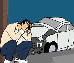 accidente de coche, de pixabay