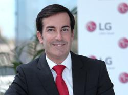 Carlos Olave, de LG electronics