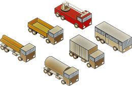 Vehículos industriales y autobuses, de Pixabay