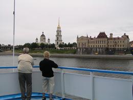 Vista de Rusia desde barco, de Open