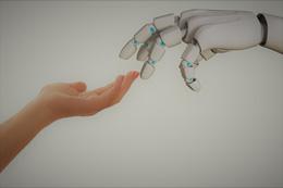 Conexión hombre-máquina, de Pixabay