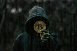 Ciberdelincuentes sobre criptomonedas, de Pixabay