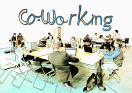 Co-working, de Pixabay