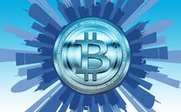 Bitcoin en negocios, de Pixabay
