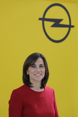 Paula Vicente, de Opel