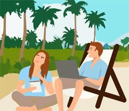 Conciliación de ocio y trabajo, de Pixabay