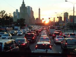 Tráfico en Moscú, de Open