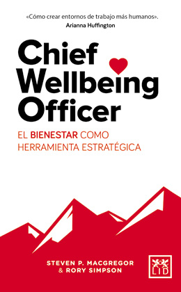 Portada de Chief Wellbeing Officer, de Lid