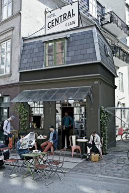 Hotel Central & Café, de Hotelscan