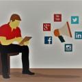 Busca de empleo en redes sociales, de Pixabay