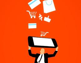Comerciante online, de Pixabay
