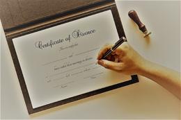 Firma de divorcio, de Pixabay