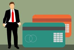 Deuda por tarjetas bancarias, de Pixabay