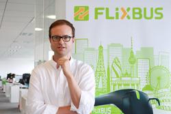 Pablo Pastega, de FlixBus