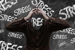 Estrés en tgrabajadores españoles, de Pixabay