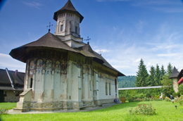 Monasterio en Bucovina, de Open