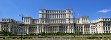 Palacio del Pueblo en Bucarest, de Open