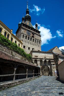 Torre del Reloj en Sigisioaha, de Open