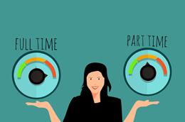 Trabajo a tiempo parcial, de Pixabay