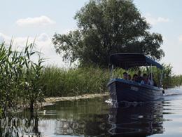 Vía fluvial en el Delta del Danubio, de Open