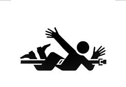 Accidente en el trabajo, de Pixabay