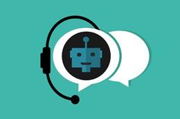 Chatbot en empresa, de Pixabay