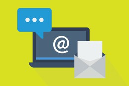 Email del banco, de Pixabay