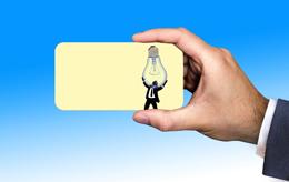 Tarjeta corporativa, de Pixabay