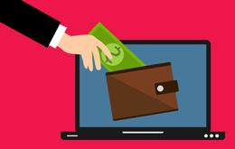 Dinero electrónico, de Pixabay