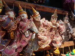 Marionetas en Birmania, de Open