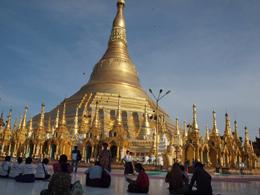 Pagoda Shwezigon, de Open